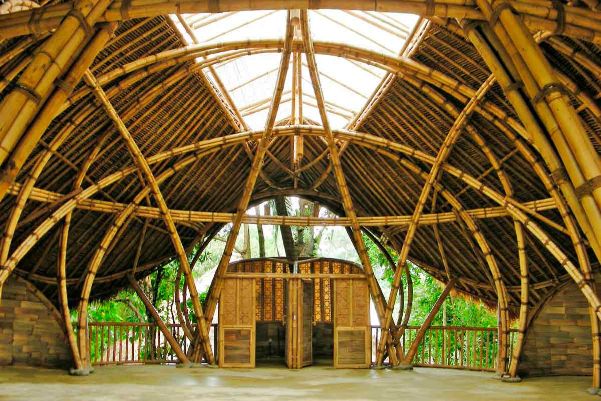 bambú sustentable en la construcción